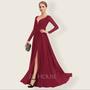 JJ'S House Wedding Special Occasion Maxi Dress